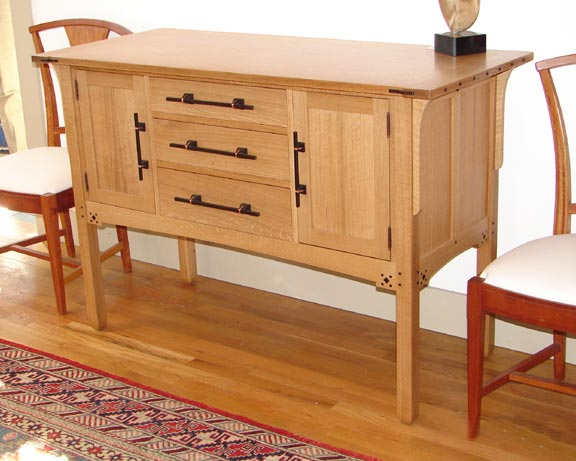 ... +Furniture+Plans Brookside Woodworking - Greene and Greene Sideboard