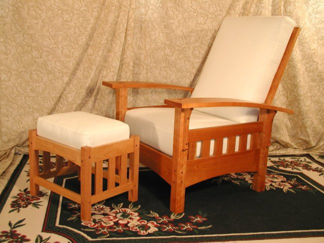 Brookside Woodworking Morris Chair