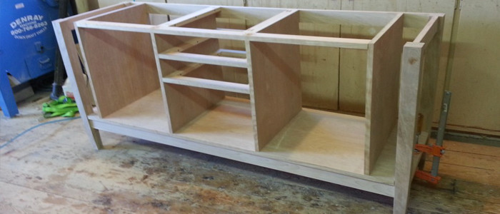 brookside woodworking furniture in process