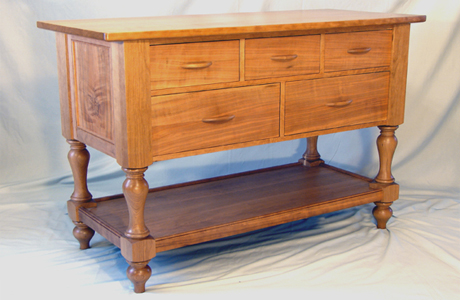 handcrafted traditional sideboard vermont made